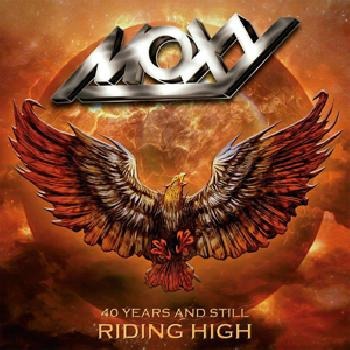 MOXY - 40 Years and Still Riding High - 2CD+DVD