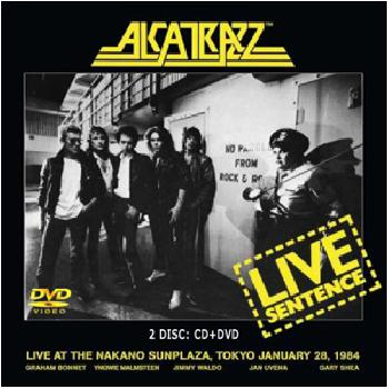 ALCATRAZZ - Live Sentence - CD+DVD Digipack