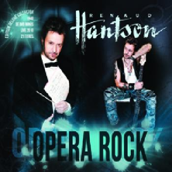 Renaud HANTSON - Opéra Rock - CD+DVD Digipack
